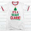 It's A Beaut Premium Christmas Ringer Tee