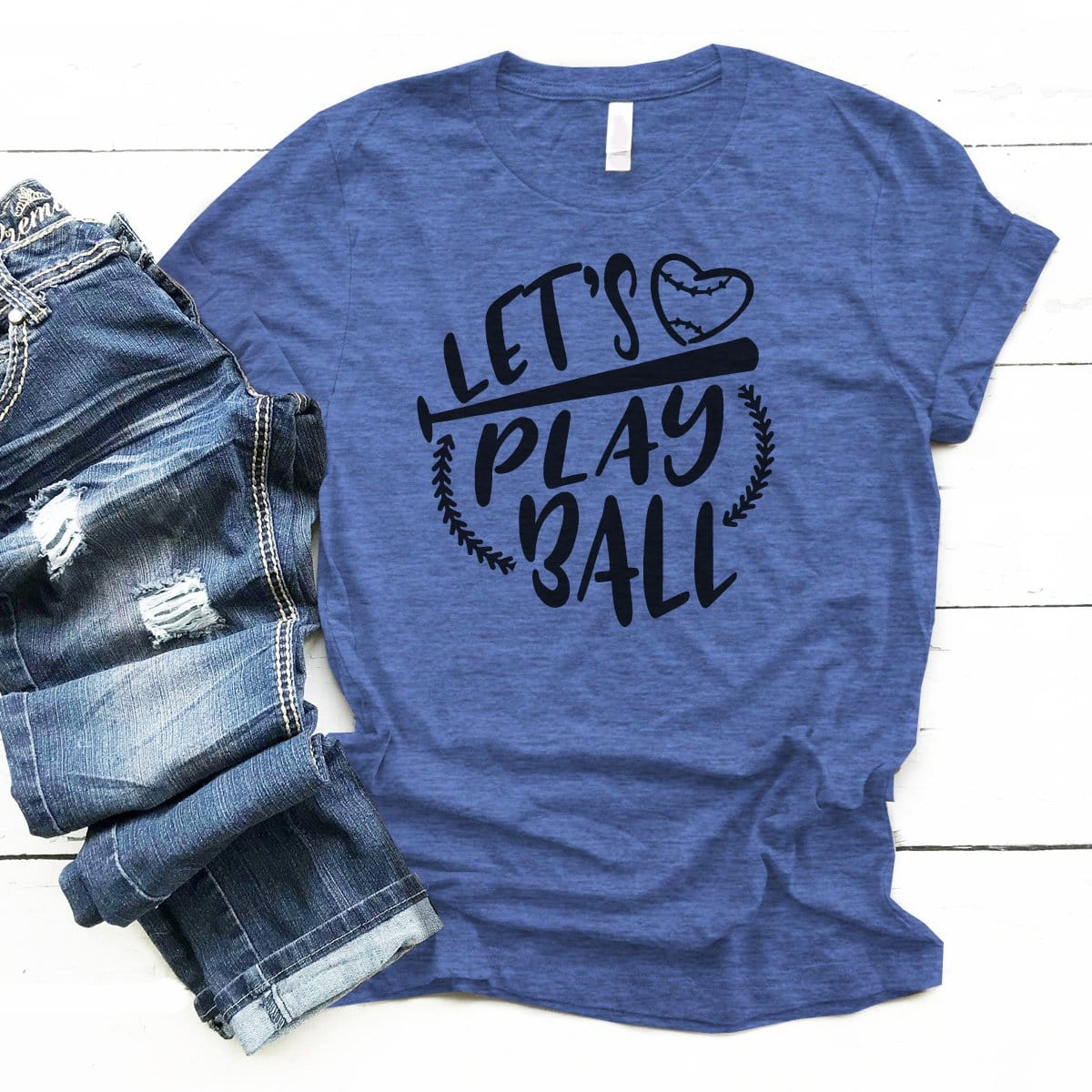 Let's Play Ball - Premium Unisex T-Shirt