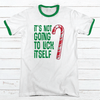 Lick Itself Premium Christmas Ringer Tee