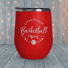 Livin Basketball Mom Life Laser Engraved Tumblers
