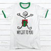 My Gift To You Premium Christmas Ringer Tee
