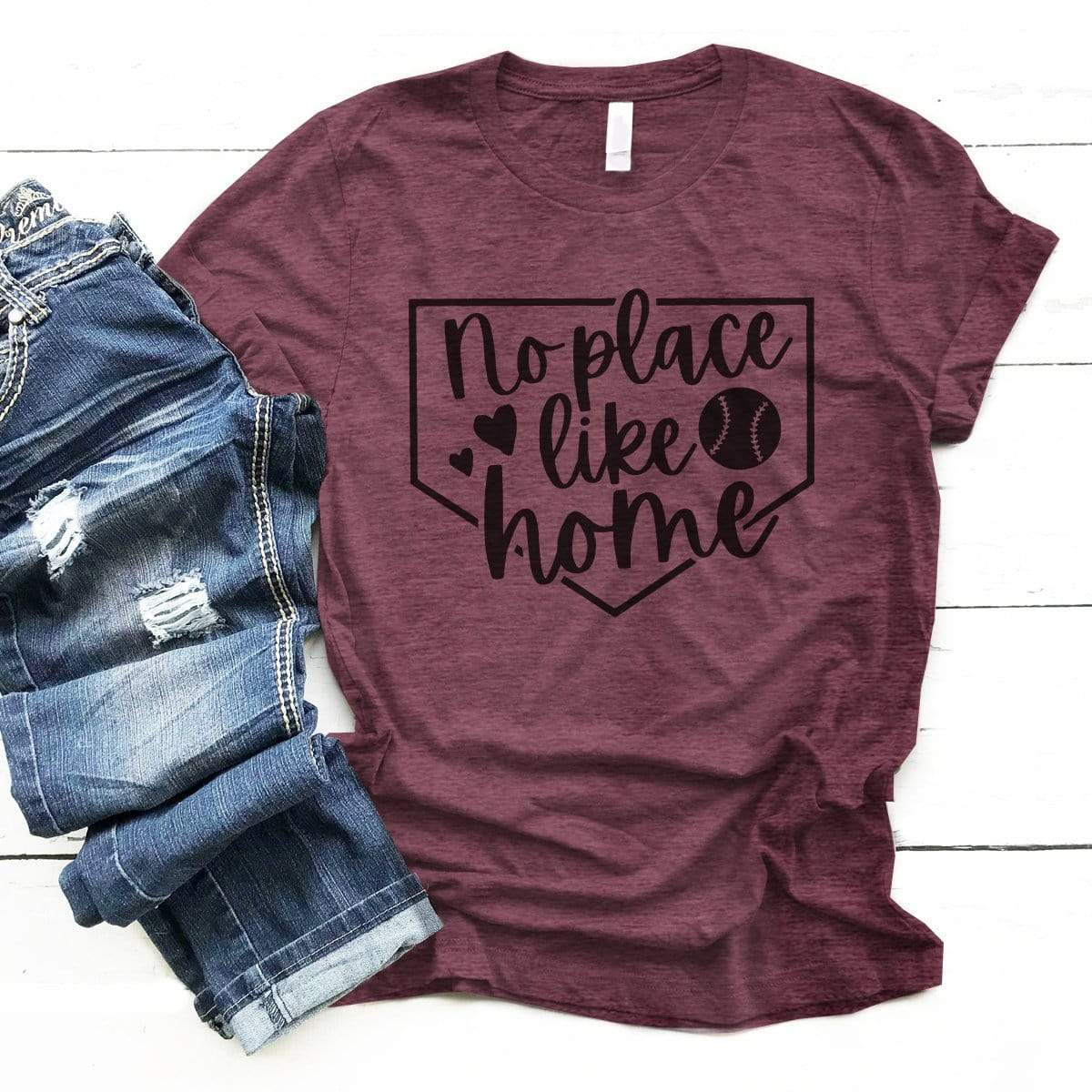 No Place Like Home - Premium Unisex T-Shirt