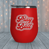 Play Ball Retro Laser Engraved Tumblers
