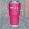 Relax Laser Engraved Tumblers