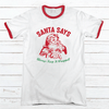 KEEP IT WRAPPED Premium Christmas Ringer Tee