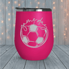 Soccer Game Day Laser Engraved Tumblers