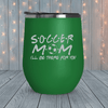 Soccer Mom Friends Laser Engraved Tumblers