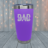 Softball Dad Laser Engraved Tumblers