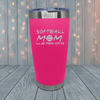 Softball Mom Friends Laser Engraved Tumblers