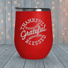 Thankful Grateful Blessed Laser Engraved Tumblers