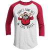 There's Some Ho's In This House Premium Christmas Raglan