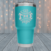 Tis The Season Laser Engraved Tumblers