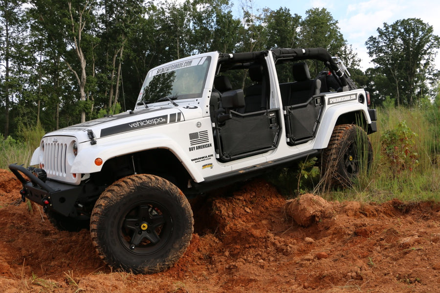 Rancho Rock Gear JK-4D Front Tube Doors