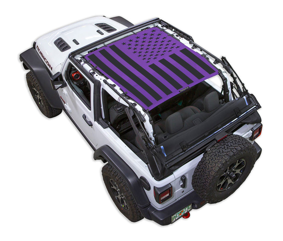 JL2D Tactical Flag Solid