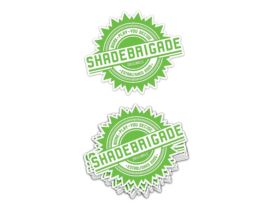 SHADEBRIGADE Sticker