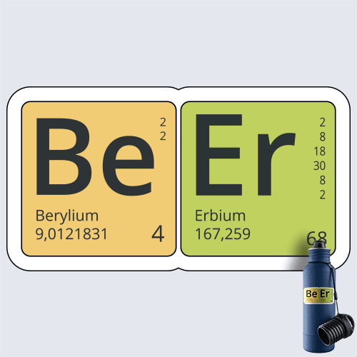 Be Er Element Decal