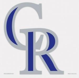 Colorado Rockies Decal
