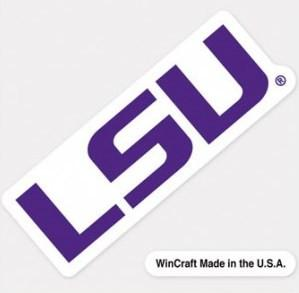 LSU Tigers Decal