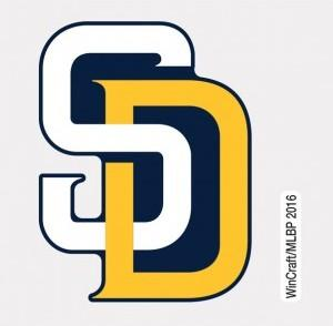 San Diego Padres Decal