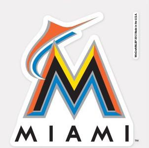 Miami Marlins Decal