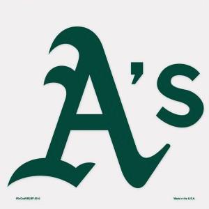 Oakland A's Decal