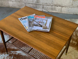 Mid Century Modern TEAK + Oak Side Table / END TABLE, Made in Sweden - Circa60