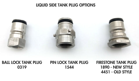 post / tank plug options