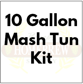 10 Gallon Drink Cooler Mash Tun Kit