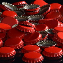 Crown Caps: Red