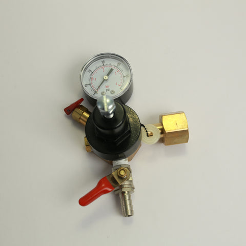 CO2 Regulator: Single Gauge
