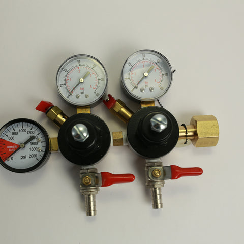 CO2 Regulator: Dual Output
