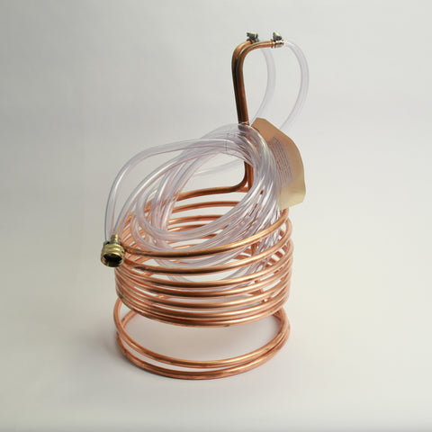 25ft Copper Wort Chiller