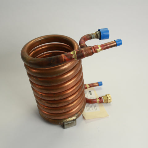 Convoluted Counterflow Wort Chiller