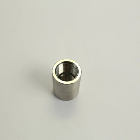 Stainless Full Coupler 1/2in