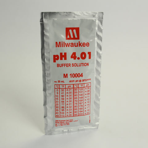pH 4.01 Solution Single Use