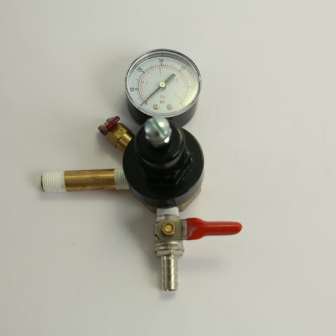CO2 Regulator: Add a Regulator