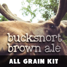 AG: Bucksnort Brown Ale