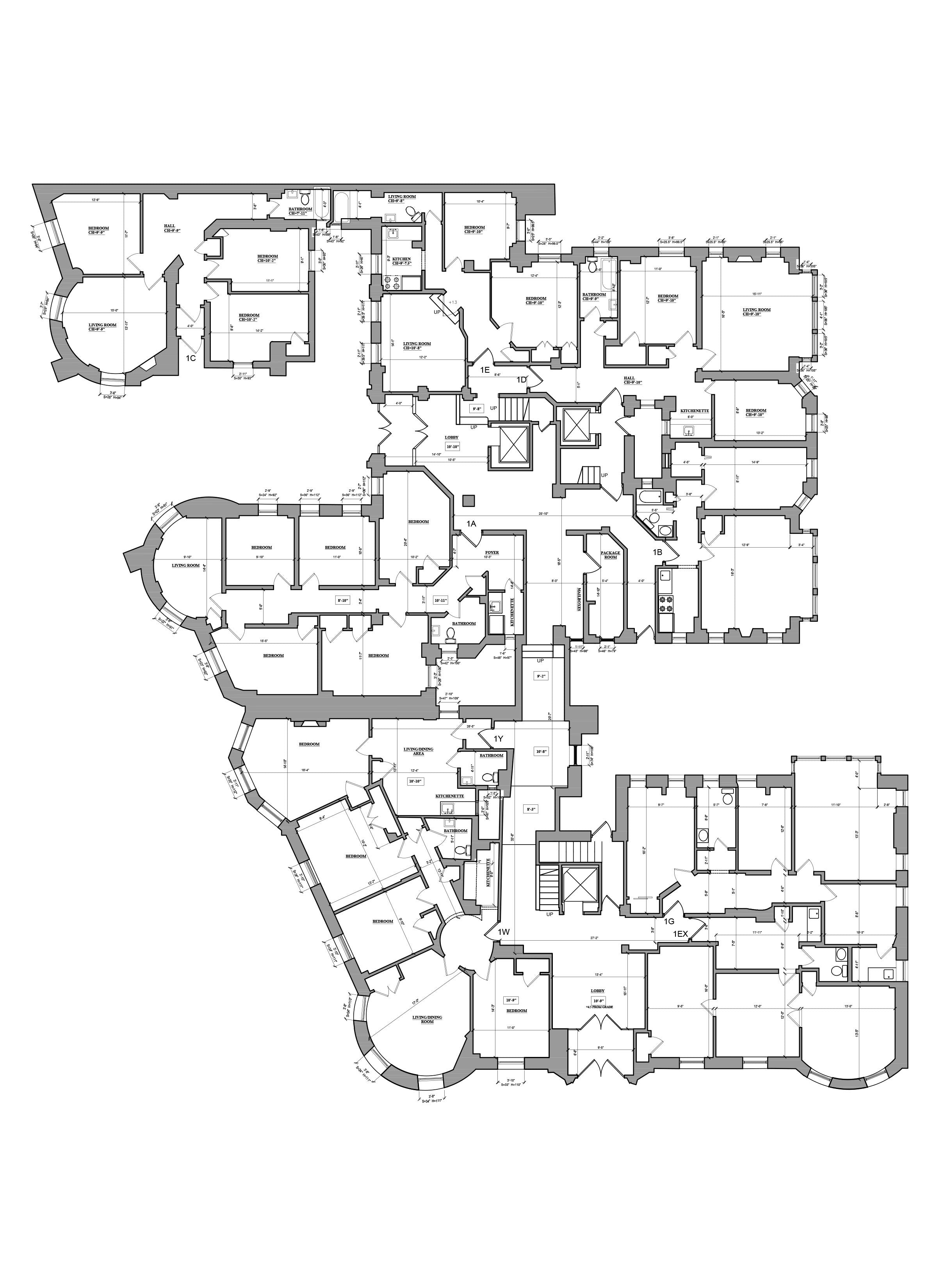 As Built Drawings- Building Surveys_Multifamily Building NY, NY
