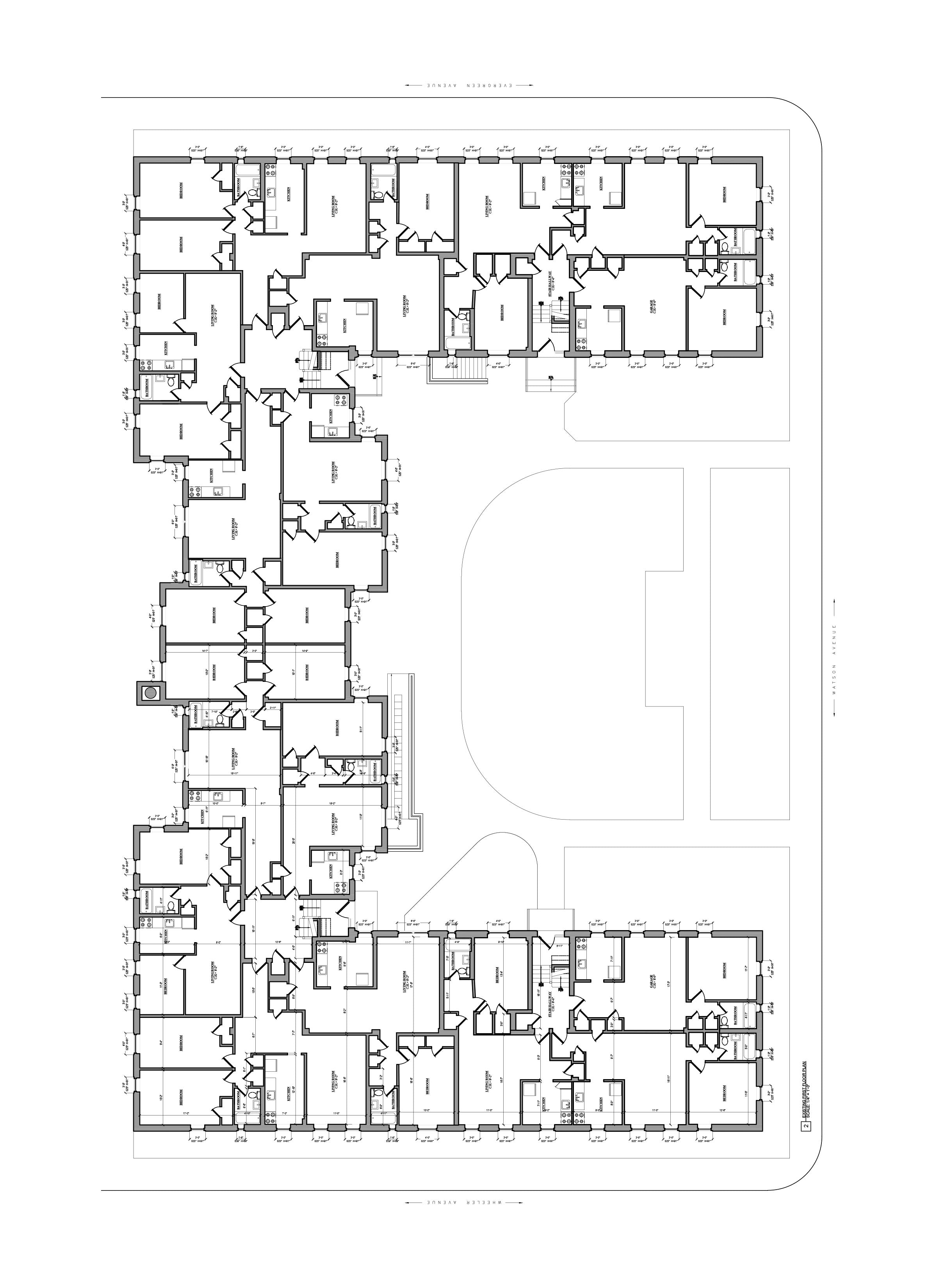 As Built Drawings -Multifamily Building_Bronx, NY
