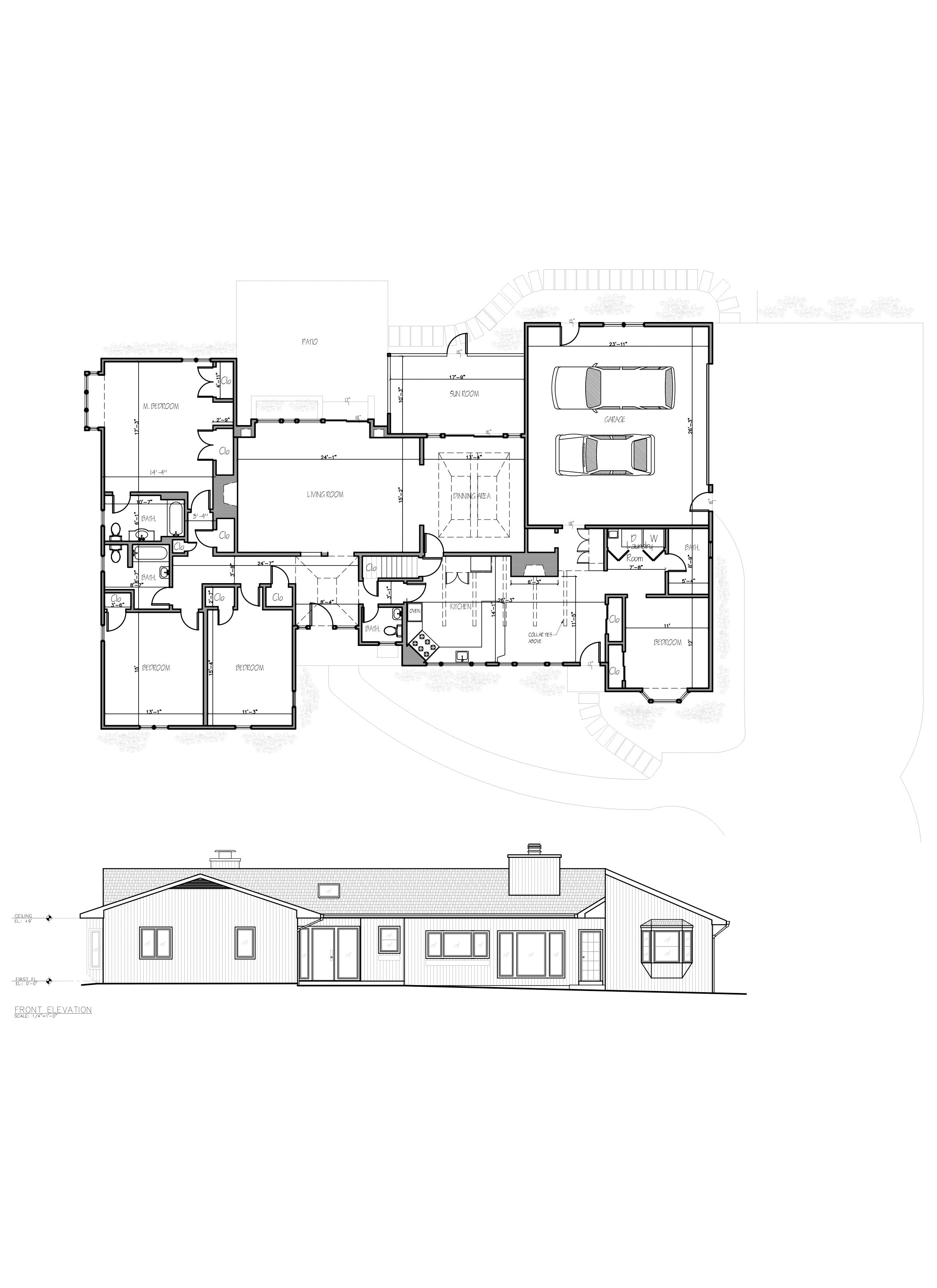 As Built Drawings - Floor Plan Design_HomeApartment_NYC