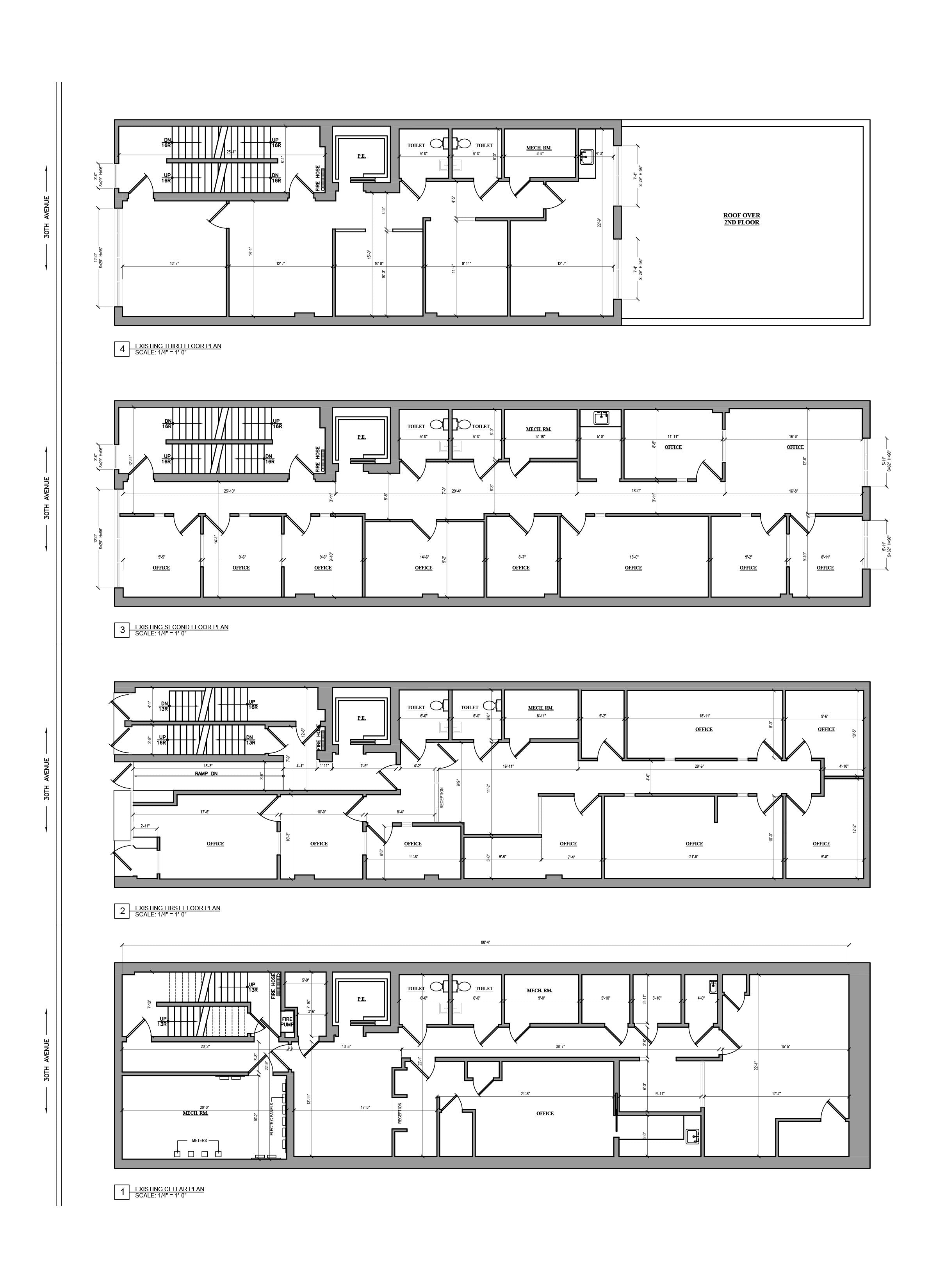 As Built Drawing - Building Survey_Commercial Building _Queens, NY
