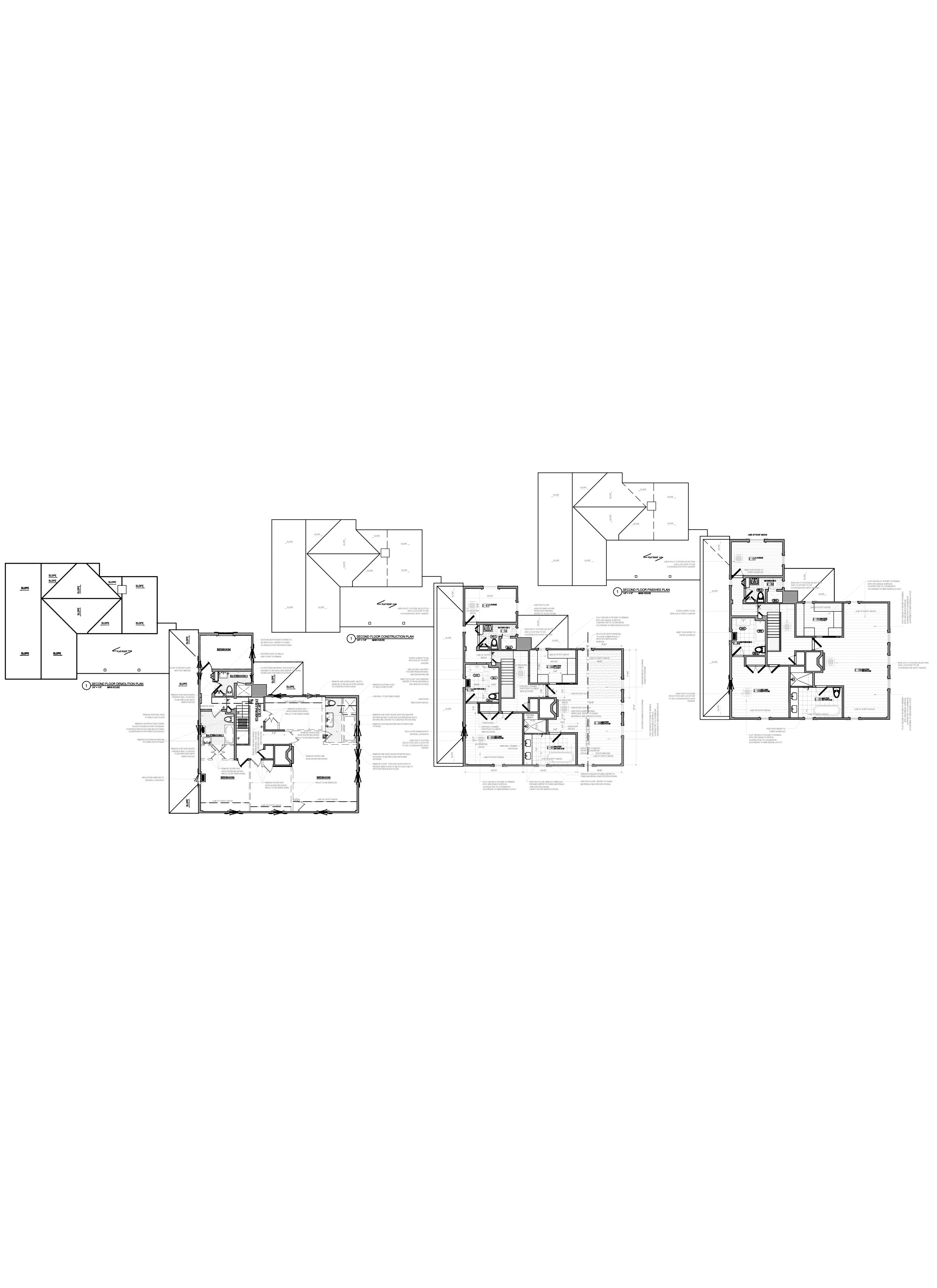 Floor plan design - As Built Drawings - AutoCAD drafting_HomeApartment_Brewster, NY
