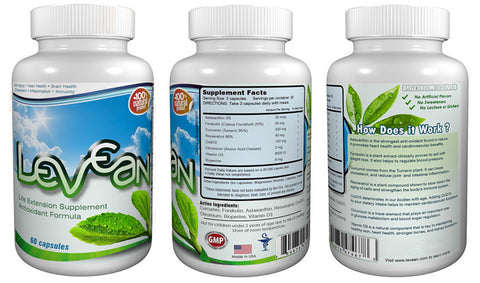 Levean - Life Extension Supplement (1 Bottle)