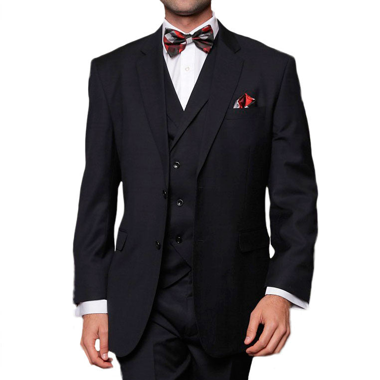 Statement Clothing Naples Black Suit