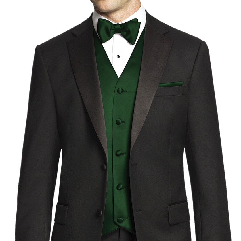Vest and Tie - Green