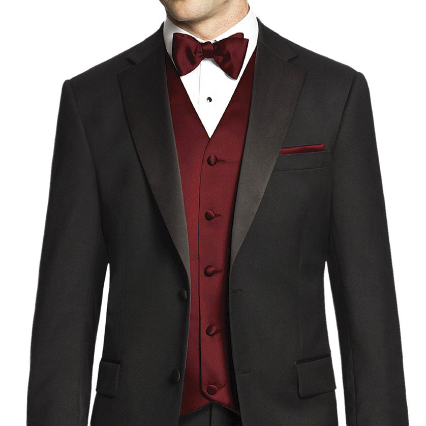 Vest and Tie - Red