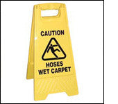 Caution Sign - Double Sided