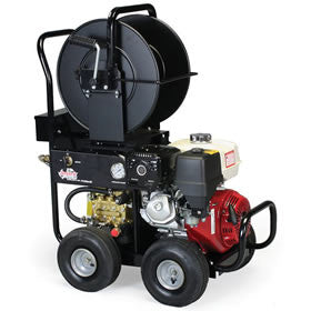 Shark Roll Cage Gas Jetter with Honda Engine