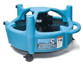 Dri-Eaz Studebaker AirPath Carpet & Floor Dryer