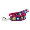 Code Flags Ribbon Dog Leash